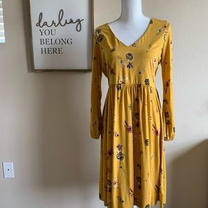 Old Navy Floral Jersey Dress